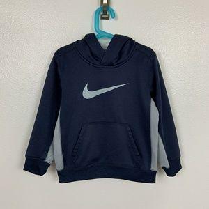 Nike Sweater Hoodie Blue Gray Sz: 7